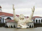 Пенопластового Иисуса в США испепелила молния