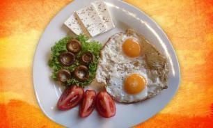 Здоровый завтрак для спортсменов