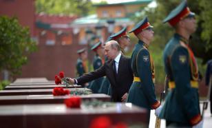 Путин поздравил жителей России с Днем Победы