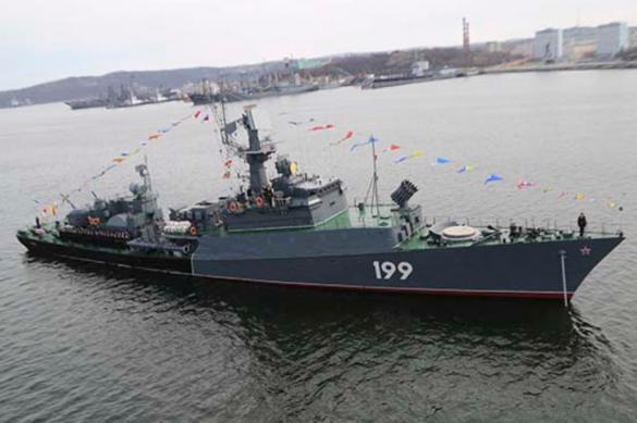 Экипажи противолодочных кораблей приступили к учениям в Баренцевом море