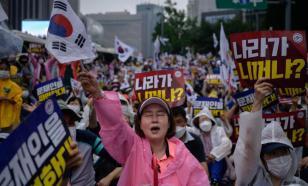 """Вспышка COVID в Южной Корее превращается в """"битву за веру"""""""