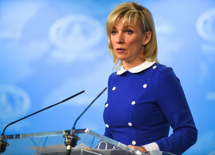 Захарова: немцам насаждают мысли о том, что Россия угрожает НАТО