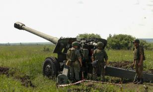 Фронтовик спустя 75 лет пострелял из гаубицы на полигоне Кузбасса