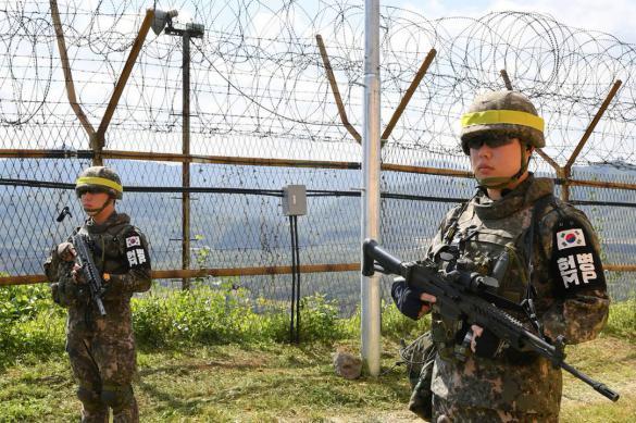 Северная и Южная Кореи обменялись автоматными очередями