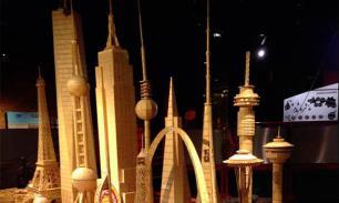 Американец построил из зубочисток  самый  высокий небоскреб в мире