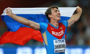 Легкоатлет Шубенков выиграл забег, упав на финише