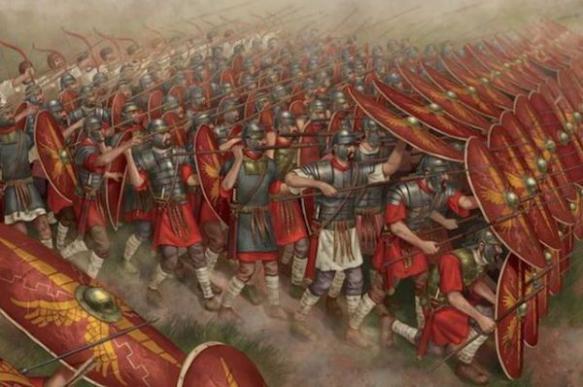 Интересные факты о древнеримской армии. Подход к сражениям