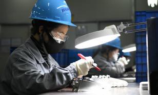 Рост промышленного производства зарегистрирован в Китае