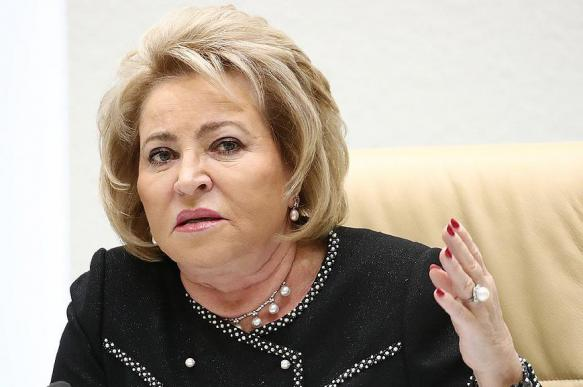 Валентина Матвиенко поддержала идею сделать 31 декабря выходным