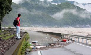Наводнение в Японии: счет жертв пошел на десятки