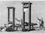 Гильотина как Дева и Мебель правосудия