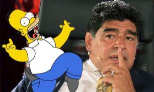 """Марадона объявил о ненависти к """"Симпсонам"""". Ответ не заставил себя ждать"""