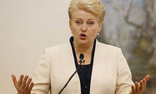 """""""Завистливая"""" Даля: президент Литвы хочет компенсации от """"Газпрома"""""""