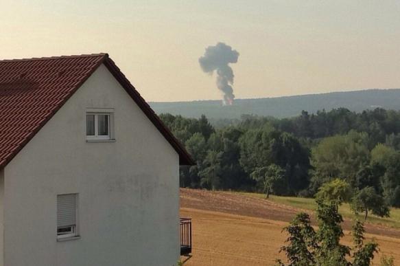 Истребитель ВВС США разбился в Германии