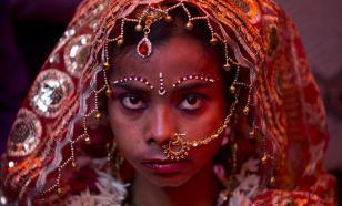Главная процедура восточной невесты