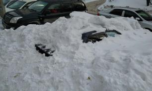 Снег стал причиной введения режима ЧС в Новосибирске