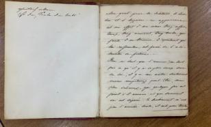 Украденную рукопись Пушкина вернули владельцу в Сочи