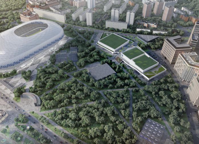 """ГК """"Галс"""": подписан договор на работы по строительству Академии спорта """"Динамо"""""""