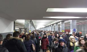 СМИ: В московском метро – коллапс
