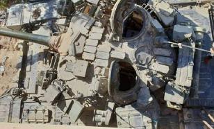 В Сирии нашли уникальную модификацию Т-90