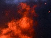 Три автомобиля сгорели ночью в Москве