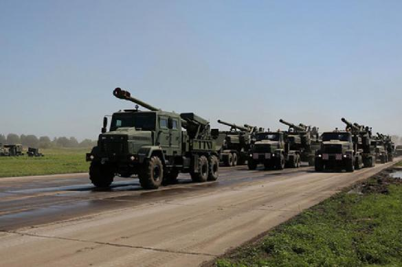 Грузовик с военнослужащими перевернулся на Украине