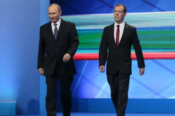 """Путин заявил о победе """"Единой России"""""""