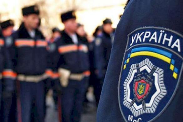 В Харькове задержали голую женщину с ножом и в неадекватном состоянии