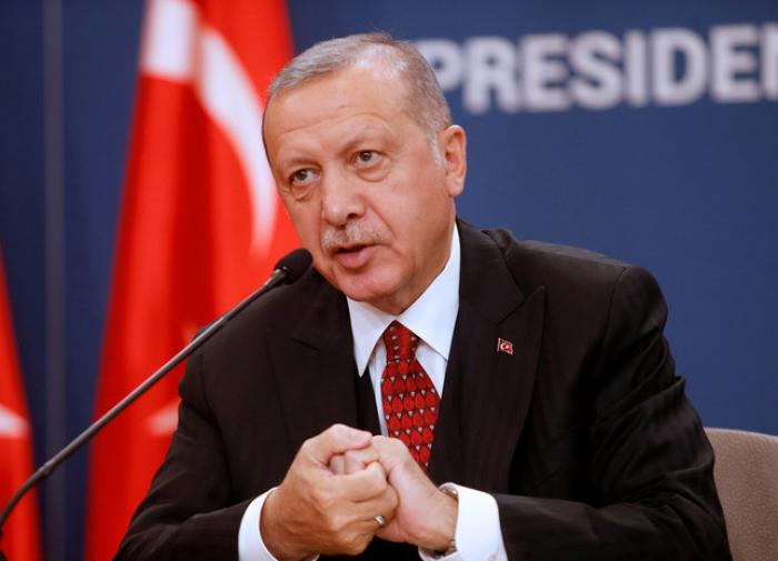 """Эрдоган потребовал для Турции """"место в ЕС"""""""