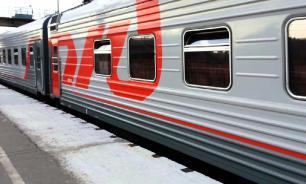 В Крым отправился первый поезд из Санкт-Петербурга