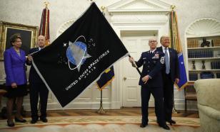Космические силы США потеряют право на свой логотип?