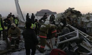 Названа причина катастрофы самолёта в Алма-Ате