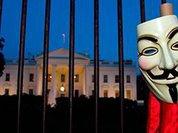 "Anonymous предупреждают Барака ""Хуссейна"" Обаму. Видео"