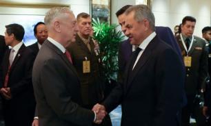 Сергей Шойгу встретился с главой Пентагона