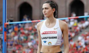 Ласицкене: World Athletics приняла решение игнорировать россиян