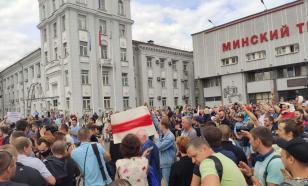 Минские заводчане продолжают работать, несмотря на призывы оппозиции