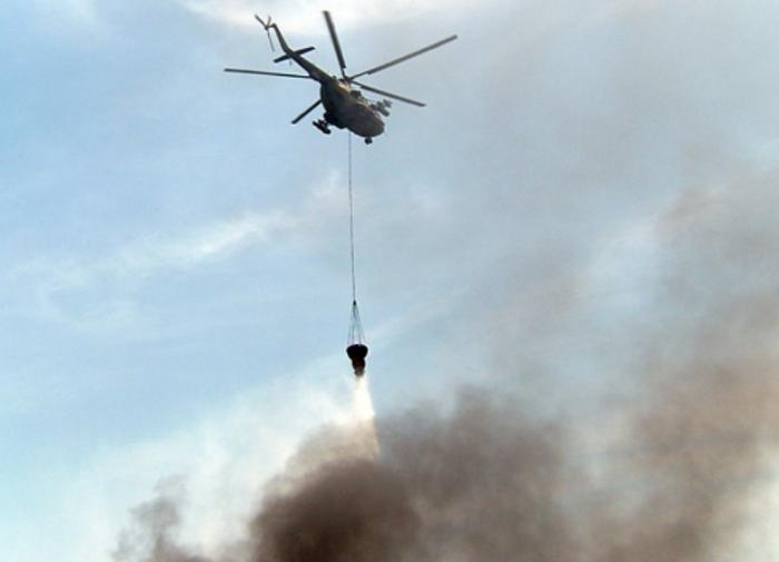В Рязанской области военные борются с пожаром на складе боеприпасов