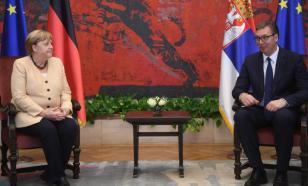 Меркель в Сербии не добилась нужного признания от Вучича