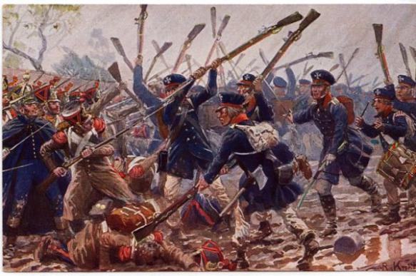 Малоизвестные сражения французской армии