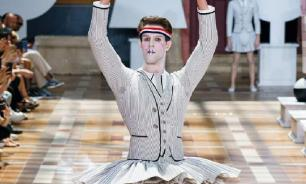 Фурор в показе высокой моды для мужчин: балетная пачка от Тома Брауна