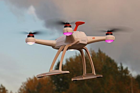 В Латвии не удалось найти дрон, который потерял управление