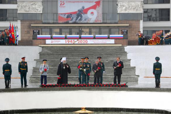 На Дону прошли мероприятия по случаю 75-летия Победы