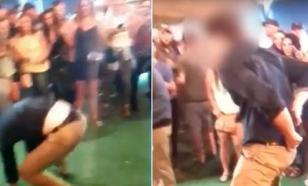 Танцуя в баре, агент ФБР застрелил одного из отдыхающих. Видео