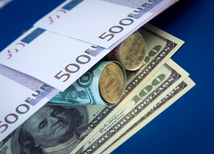 Евро превысил 92 рубля впервые с 1 февраля