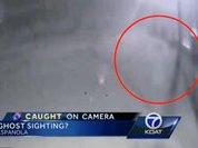 """Видеокамера """"застукала"""" призрака рядом с полицейским участком в США"""