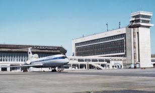 Аэропорт Хабаровска эвакуирован из-за сообщения о минировании