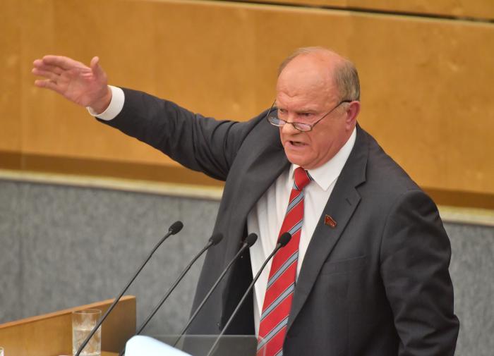 Зюганов оценил белорусскую оппозицию