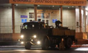 За ночь военные в Астрахани продезинфицировали несколько зданий