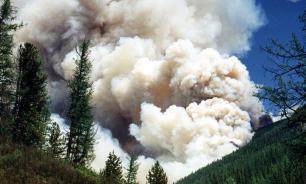 Площадь лесных пожаров в Красноярском крае превысила 1 млн га