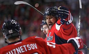 Овечкин в матче НХЛ хет-триком ответил на удар в лицо клюшкой